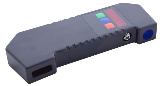 Jauge d'écartement laser de mesure ferroviaire