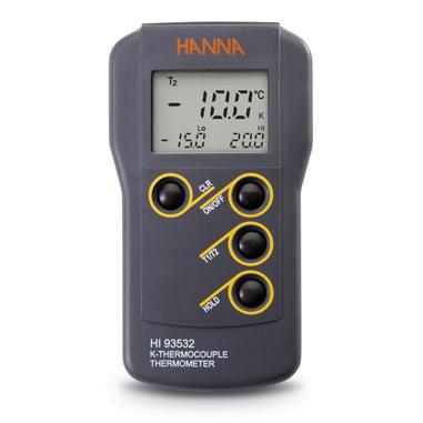 Thermomètre étanche à thermocouple type K