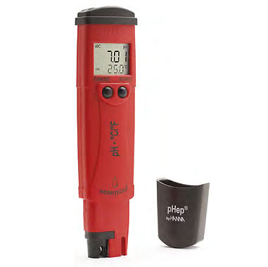 Instruments testeurs de pH et °C