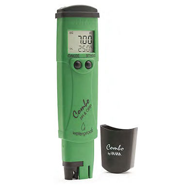 Instruments testeurs de pH, rédox et °C