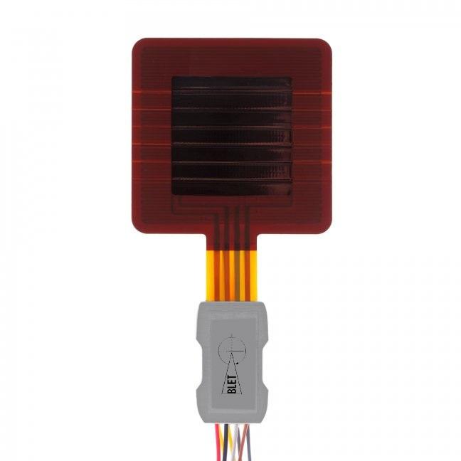 Capteur de flux thermique et température à feuille