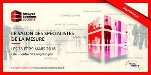 Invitation Mesure Solutions EXPO 2018