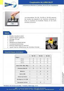 Couplemètre TMI-300 - Couplemètres ALLURIS