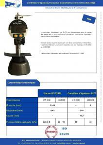 Contrôleur fixe ELASTOMERE ISO 23529