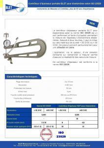 Contrôleur mobile ELASTOMERE ISO 23529