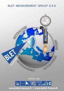 Tampons de mesure d'alésage BLET