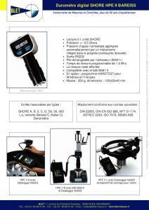 Duromètres électroniques HPE II
