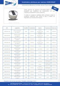 Humidimètre cylindrique pour matériaux BLET